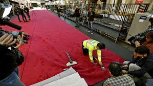 How Wide Is A Roll Of Carpet by The Red Carpet Isn U0027t Actually Red And Other Secrets Underfoot At
