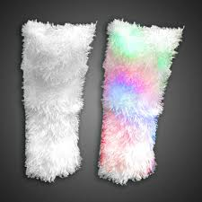 mardi gras leg warmers light up leg warmers for raves and