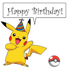 Pokemon Birthday Meme - pikachu birthday happy birthday sayings and pics pinterest