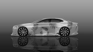 lexus car 2017 lexus lf fc side super abstract pineapple fruit art car 2017 el tony