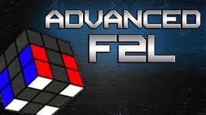 Advaned Cfop Advanced F2l Youtube