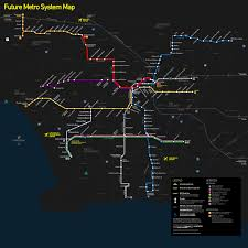 Los Angeles Metro Rail System Map by File Future Los Angeles County Metro Rail Svg Wikimedia Commons