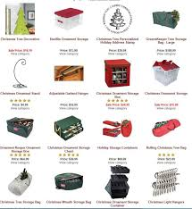 Christmas Decoration Storage Totes by Holiday Storage Bins And Containers Life Gets Organized