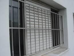 Preferidos Janela de Alumínio com Grade de Proteção - Porta e Segurança  @DV57