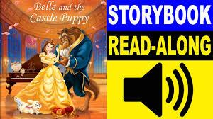 beauty beast story book belle castle