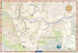 santa clarita map santa clarita trail map santa clarita california usa mappery