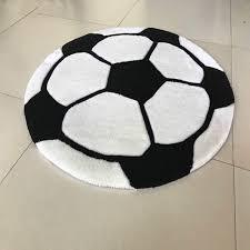 Rug On Carpet Pad Aliexpress Com Buy Special Cartoon Football Pattern Carpet Boy