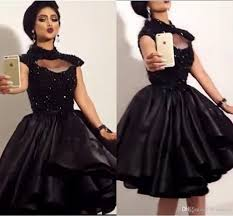 promotion dresses for 8th grade black lace homecoming dresses 2016 high neck keyhole bust cap