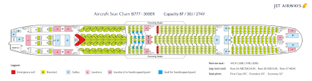 Air India Seat Map by Fleet Information