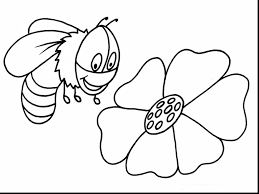 marvelous cute bumble bee coloring pages with bee coloring pages