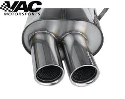 e46 bmw performance exhaust stromung bmw performance rear section exhaust bmw e46 323 328