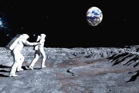who took the photo of the on the moon mental floss