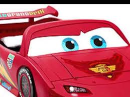 Toddler To Twin Convertible Bed Disney Pixar Cars Convertible Toddler To Twin Bed With Lights And