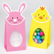 easter bags bunny easter treat bags