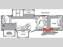Fleetwood 5th Wheel Floor Plans 147 Best Rv Wagon Tiny Home Floor Plans Images On Pinterest