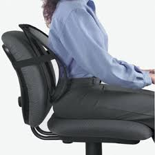coussin pour fauteuil de bureau cale dos pour siège de bureau prévient le mal de dos vilacosy