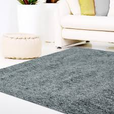 Soft Area Rugs Lanart Soft Touch Shag Grey 5 Ft X 7 Ft Area Rug Softt5x7gy