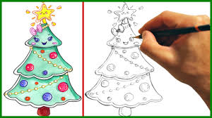 drawn christmas ornaments cute pencil and in color drawn