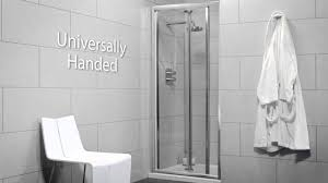 900 Bifold Shower Door by Sonas Bathrooms City Range Bifold Shower Door Youtube