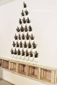 Christmas Decorations Wall Tree by Wall Christmas Tree Too Cute There Are Hooks To Hang Ornaments On