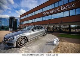 mercedes uk milton keynes office tongwell milton keynes march 8 stock photo 596177138