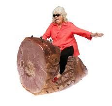 Ham Meme - attack of the meme paula deen riding things