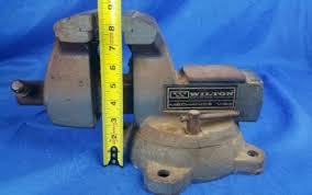 Mechanics Bench Vise Vintage Wilton Mechanics Bench Vise Heavy Duty Swivel Base Vise