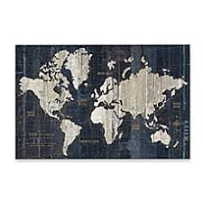 Map Wall Decor by Maps Wall Decor Bed Bath Beyond