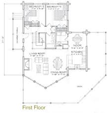 Timber Home Floor Plans Yellowstone Log Home Plan By Precisioncraft Log U0026 Timber Homes