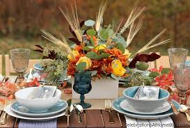 simple and thanksgiving table celebrations at home