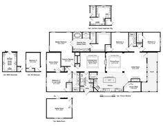 Triple Wide Floor Plans Triple Wide Manufactured Home Floor Plans Bedroom Triple Wide