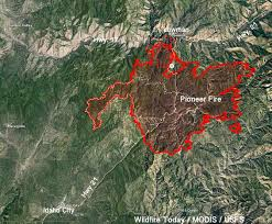 Wildfire Map Northwest 2017 by Pioneer Fire U2013 Wildfire Today