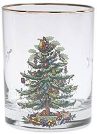 spode tree hiball glasses set of 4