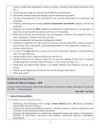 Hr Manager Sample Resume by Hr Manager Job Description Cv Best Human Resources Manager Resume