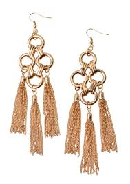 golden roar statement earrings happiness boutique