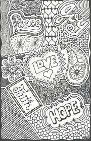 pattern design words inspirational words doodle by patricia hill on etsy 1 50