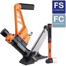 freeman 3 in 1 flooring air nailer and stapler with fiberglass