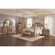 Wood Canopy Bed King Canopy Bed Ebay