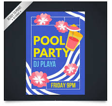 15 free pool party flyer templates tech trainee