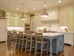 kitchen island designs floor to ceiling windows wooden bar stools