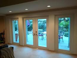 Patio Door Internal Blinds by Double Glazed French Doors With Internal Blinds Odl Flush Glazed