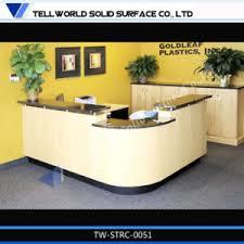 Fancy Reception Desk China Tw Latest Design Fancy Rectangle Reception Desk Modern High