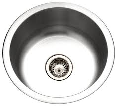 Round Kitchen Sink by Houzer Cf 1830 1 Club 18