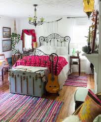 eclectic style bedroom beautiful eclectic vintage boho bedroom love the bright bold