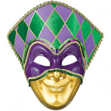 mardi gras maks mardi gras jester fabric and plastic mask the party bazaar