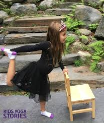 Chair Yoga Class Sequence Halloween Yoga Class Ideas 5 Yoga Poses For Kids To Use With