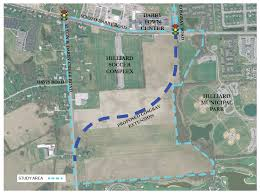 Hilliard Ohio Map Cosgray Road Extension