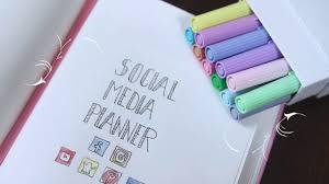 social media planner youtube