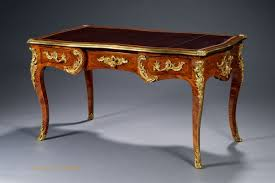 bureau louis xv a antique bureau plat in the louis xv manner probably by