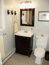 Small Half Bathroom Decorating Ideas Colors Simple Small Bathroom Design Ideas The Sink Has A Classic Feel